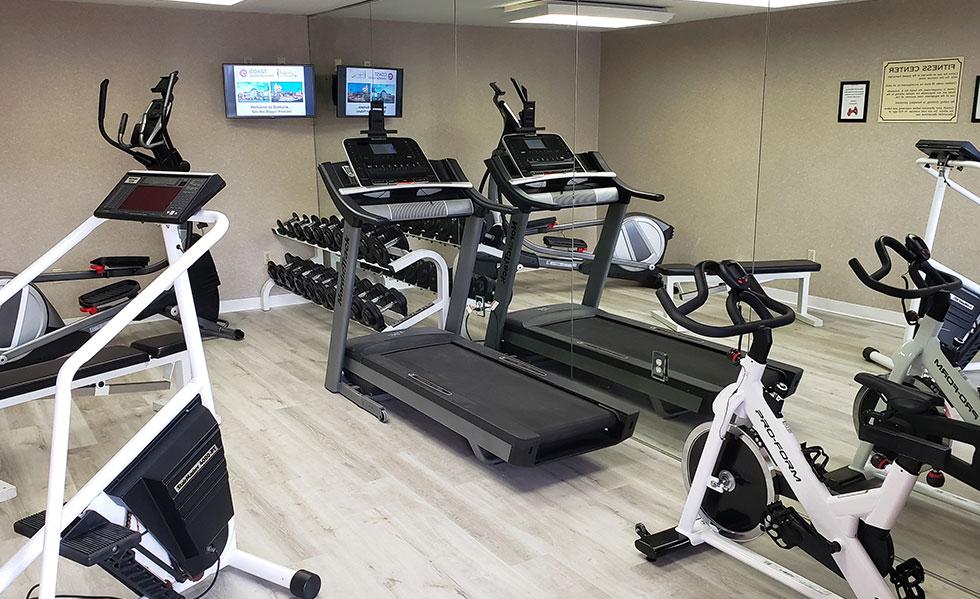Fitness Center Safari Inn Burbank