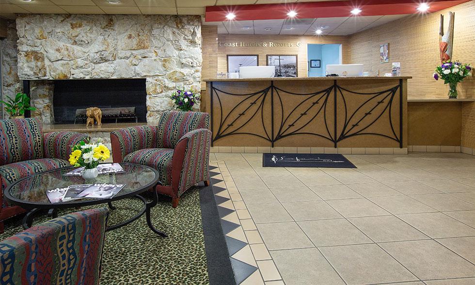 Safari Inn Burbank CA Lobby